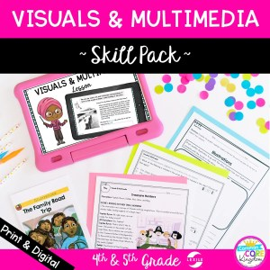 RL.4.7 5.7 Multimedia and Text Skill Pack Preview