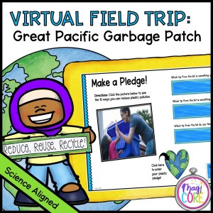 Virtual Field Trip to the Great Pacific Garbage Patch in Google Slides & Seesaw Format