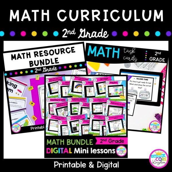 2nd Grade Math Curriculum Bundle