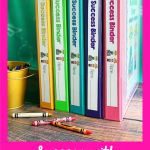 How to be successful using student data success binders