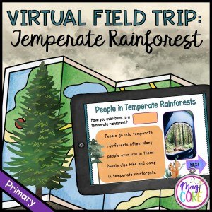 Virtual Field Trip: Temperate Forest – Primary – Google Slides & Seesaw