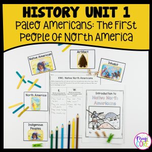 History Unit 1 Paleo Americans - The First Peoples of North America