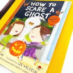 Cover of How to Scare a Ghost picture book for Halloween