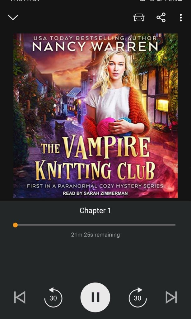 The Vampire Knitting Club Book Review