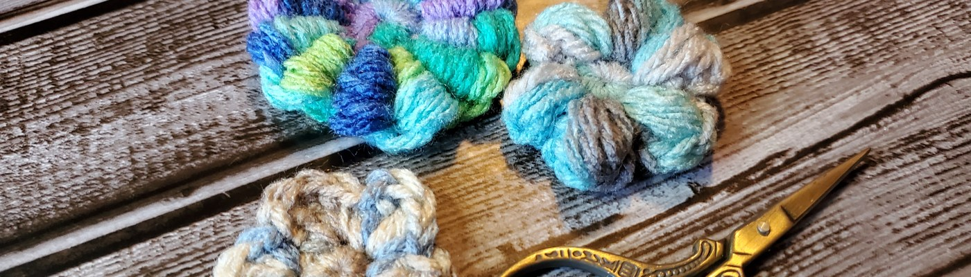 3 easy crocheted flower