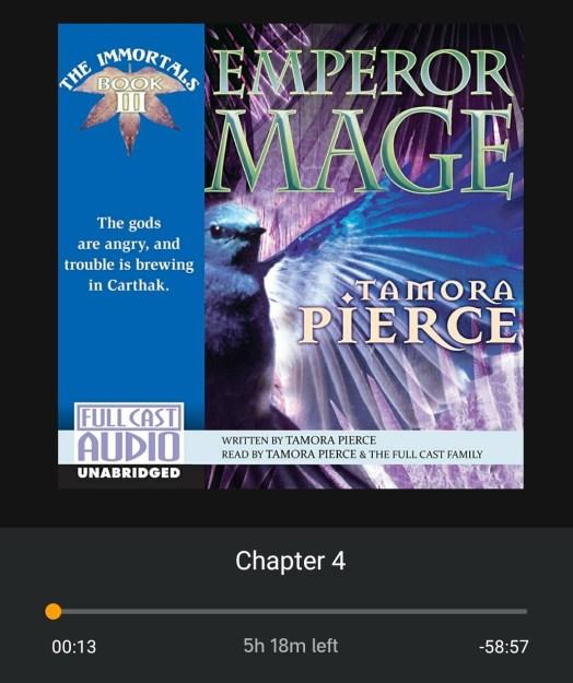 Emperor mage audio book review