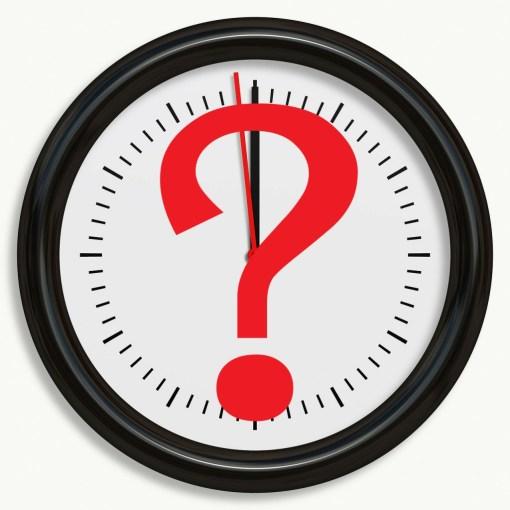 時計 何時?