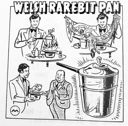 Morrissey Welsh Rarebit Pan (original artwork)