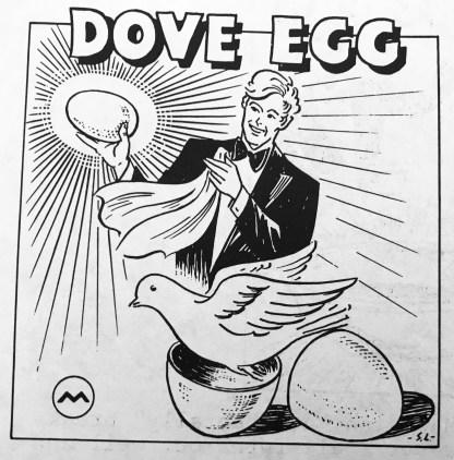 Morrissey Giant Dove Egg