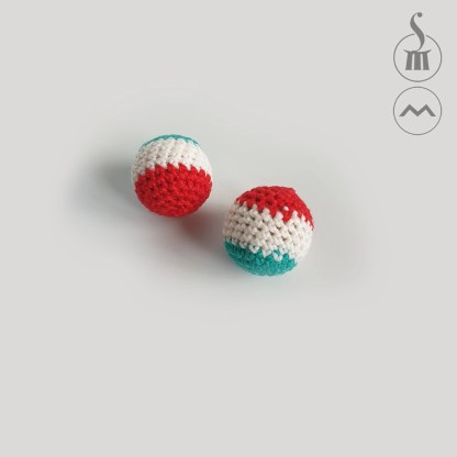 "1"" Morrissey Crocheted Chop Cup Balls"