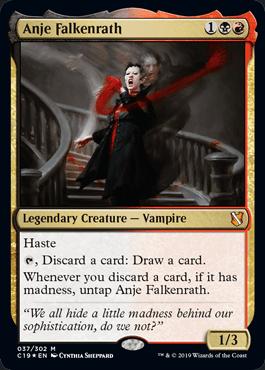 Anje Falkenrath - Commander 2019