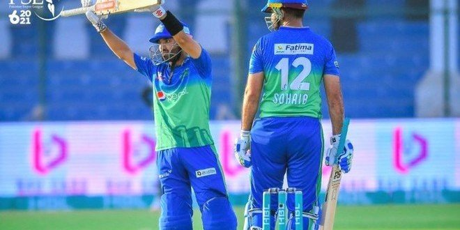 PSL 6: Multan Sultans got their first victory