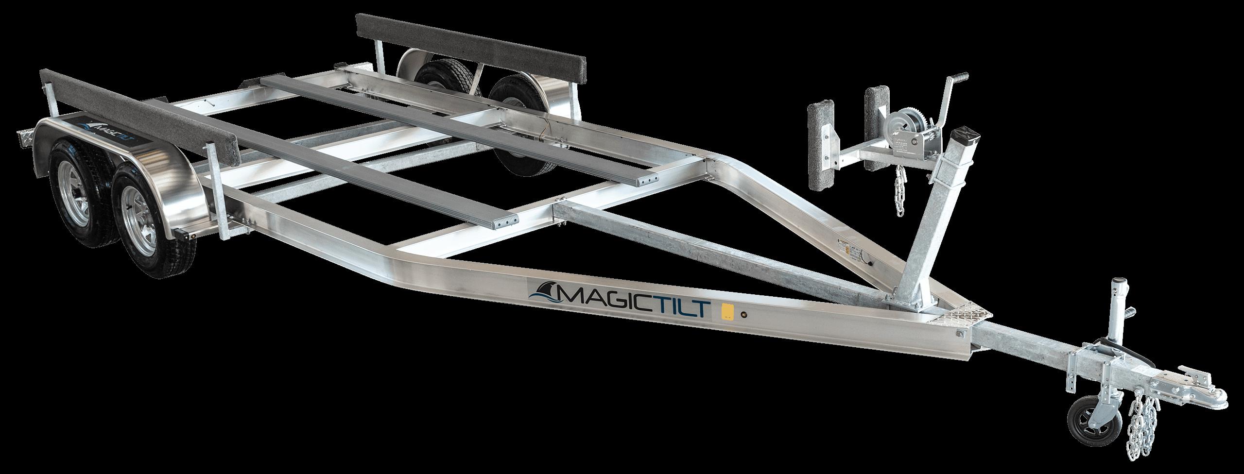 Airboat Series Tandem Axle Aluminum