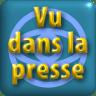 """Pictogramme """"Vu dans la presse"""" de & par Richard Martens pour le CMP"""