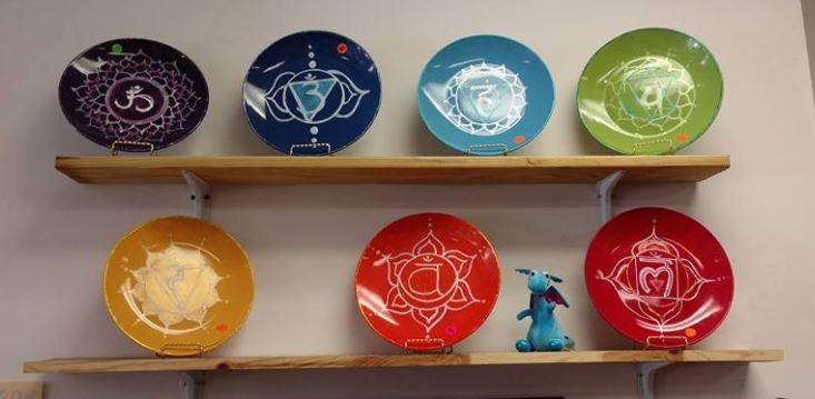 Chakra Charging Plates