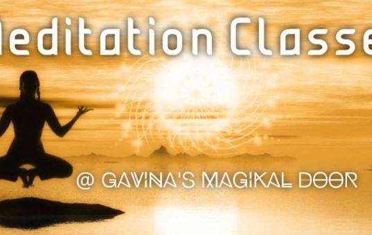 Don't Miss Meditation Tomorrow October 26 at GMD!