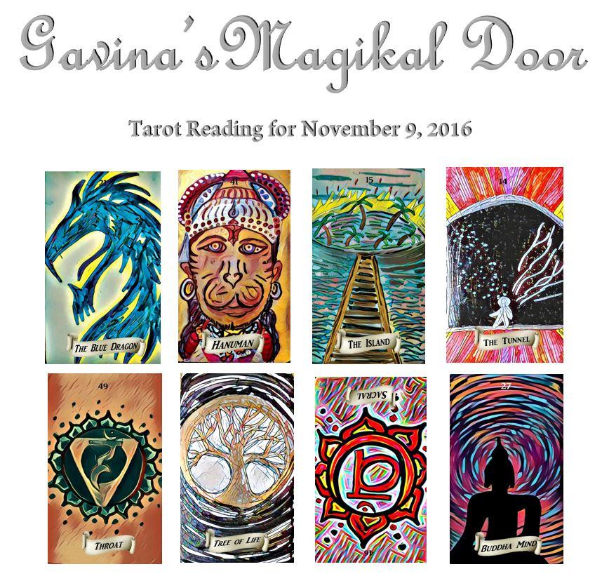 Tarot Reading for November 9 2016 ~Gavina\u0027s Magikal Door~  sc 1 st  Gavina\u0027s Magikal Door & Tarot Reading for November 9 2016 ~Gavina\u0027s Magikal Door ...