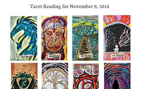 Tarot Reading for November 9 2016 ~Gavina's Magikal Door~