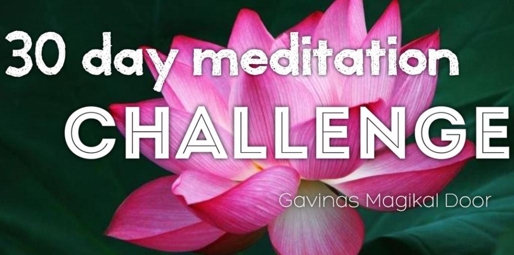 30 day meditation CHallenge fredericksburg VA