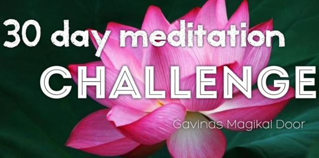 Meditation at Gavina's magikal door