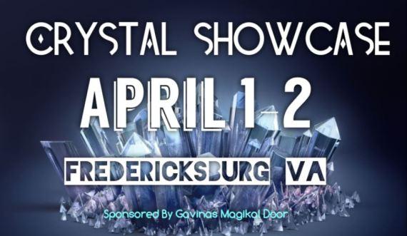 Crystal Showcase Fredericksburg VA Gavinas Magikal Door