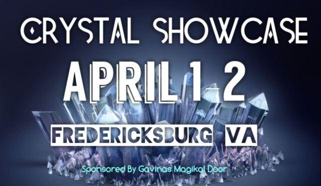 Crystal Showcase Fredericksburg VA Gavinas Magikal Door Healing Crystals in Fredericksburg VA