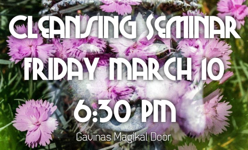 Spiritual Seminar Tomorrow Night Friday March, 9 2017