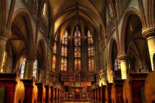 Evermarsh Church. God is in the basement.