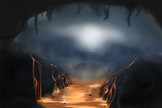 Cocytus' tunnels. Hell in space.