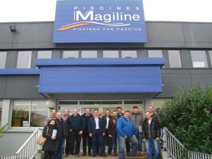 Návšteva PISCINES MAGILINE Troyes 2015