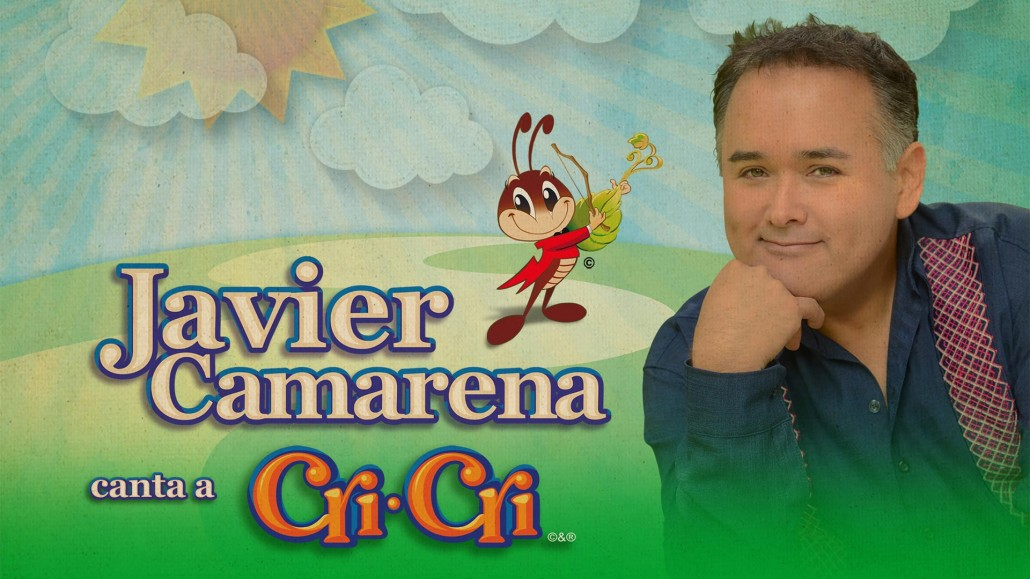 Imagen del disco «Javier Camarena canta a Cri Cri».
