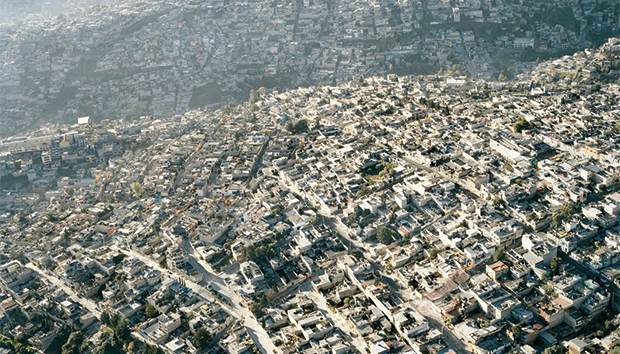 Aerial view of the Mexico City Metropolitan Area