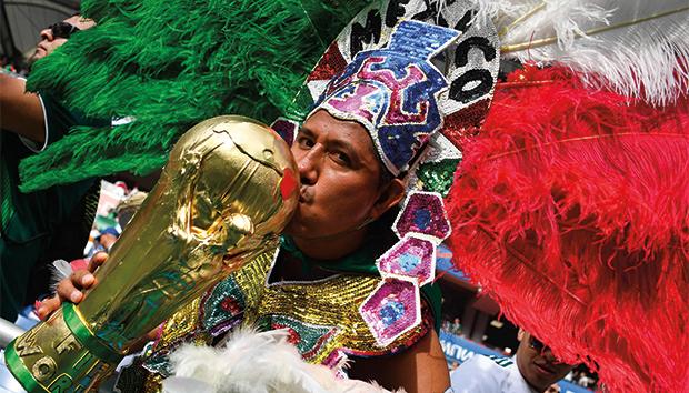 Aficionado mexicano. Foto: soyfutbol.com