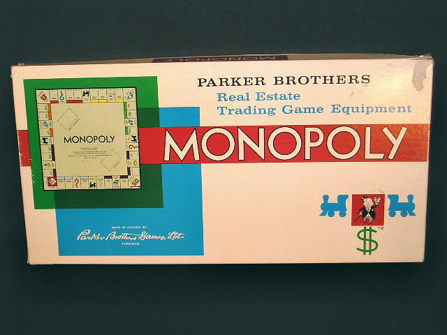 The Best Classic Board Games Monopoly Recycled