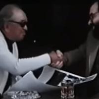 1979: Francis Ford Coppola i Akira Kurosawa sączą wspólnie Suntory Whisky