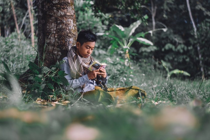 Tadarus Al-Qur'an di alam