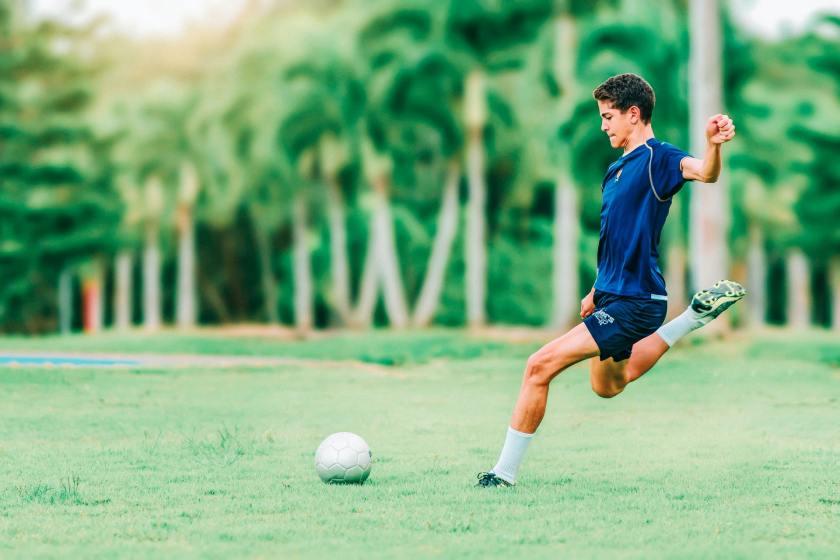 badan pemain sepak bola