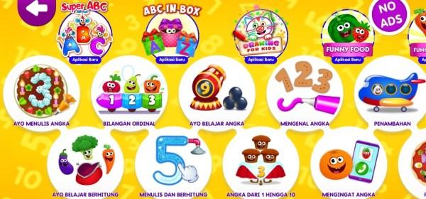 Permainan angka untuk anak