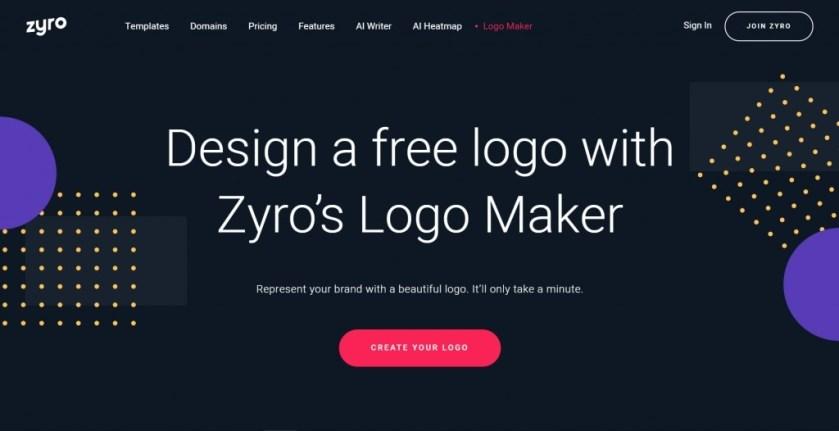 Cara Membuat Logo Gratis Via Zyro.Com