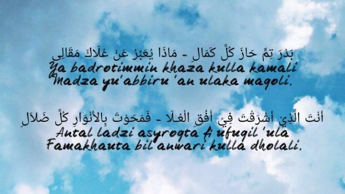 Lirik Lagu Sholawat Ya Badrotim dan Artinya