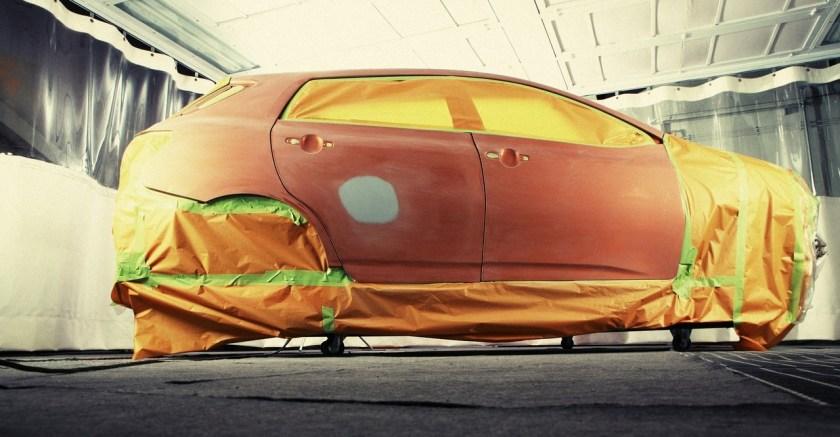 Teknologi Pengecatan Kendaraan Bermotor