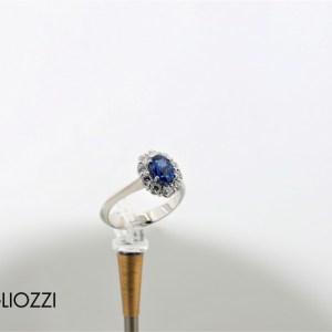 anello zaffiro