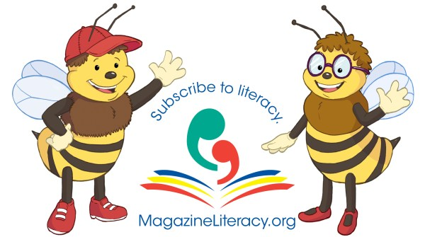 Max and Maggie the Literacy Bees