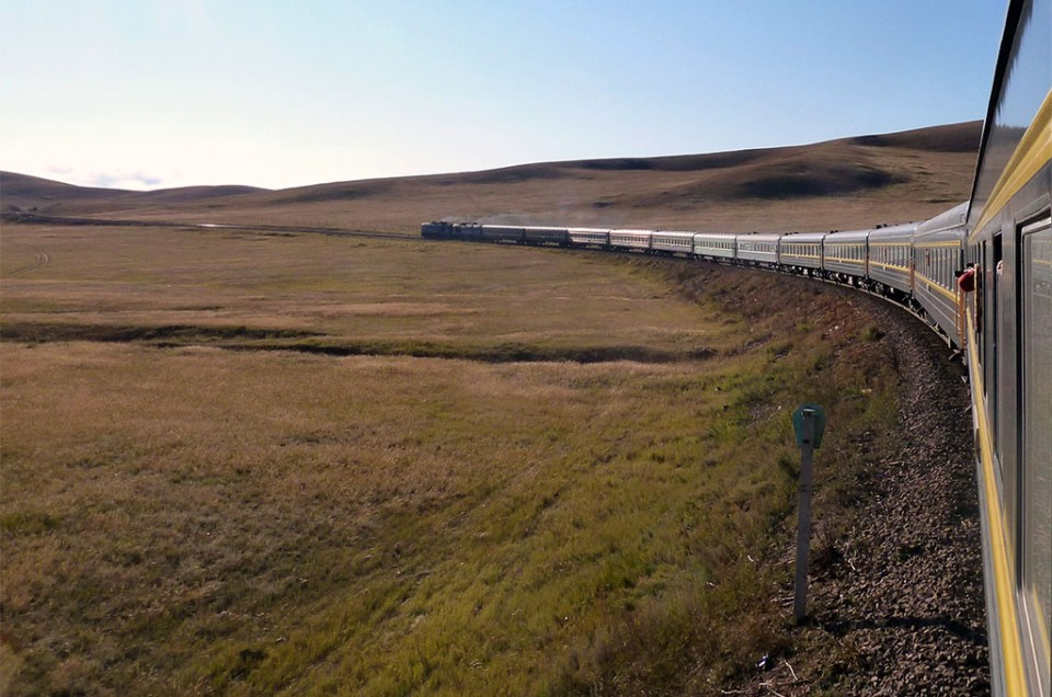 A bord du Transmongolien : de Pékin à Oulan Bator en train