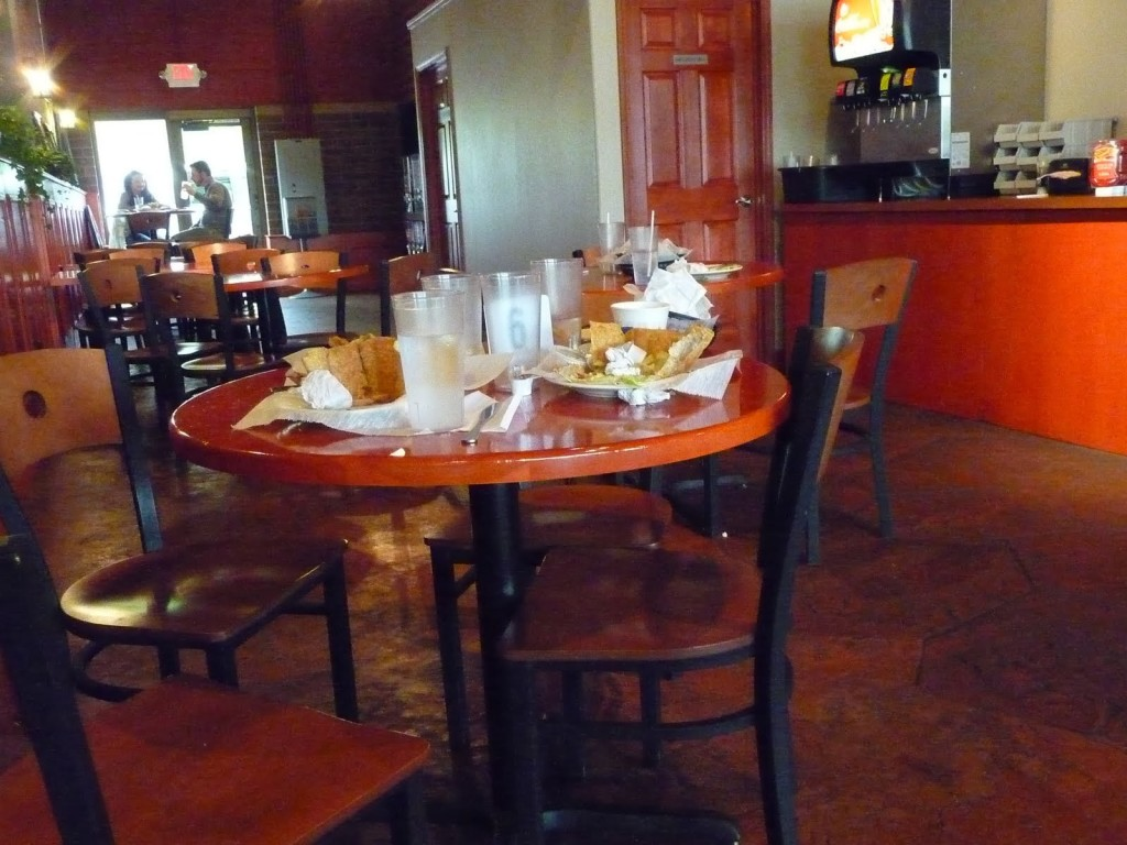 """Um, why wasn't this table cleared in the .05 seconds between the last table and me?"""