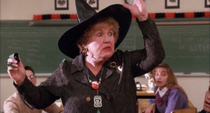 """I'm not sure if she's """"the fun teacher""""  or if she's going to be pushed into retirement."""