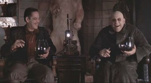 Side note, isn't it a little weird that one of the brothers is named Fester?  I think we all know who the favorite child was.
