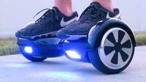 It's not a fucking hoverboard, it's a Segway without a handle.