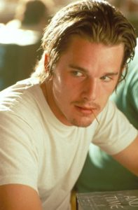 I know it's 1994 but Jesus Christ, wash your hair, Ethan Hawke.