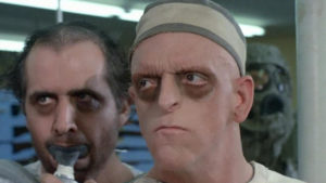 Thats Michael Berryman on the right from every B-Movie youve ever seen.